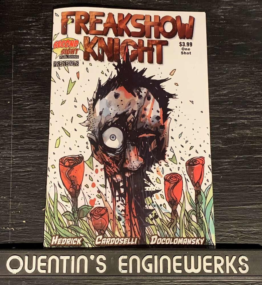 , REVIEW: Freakshow Knight, The Indie Comix Dispatch