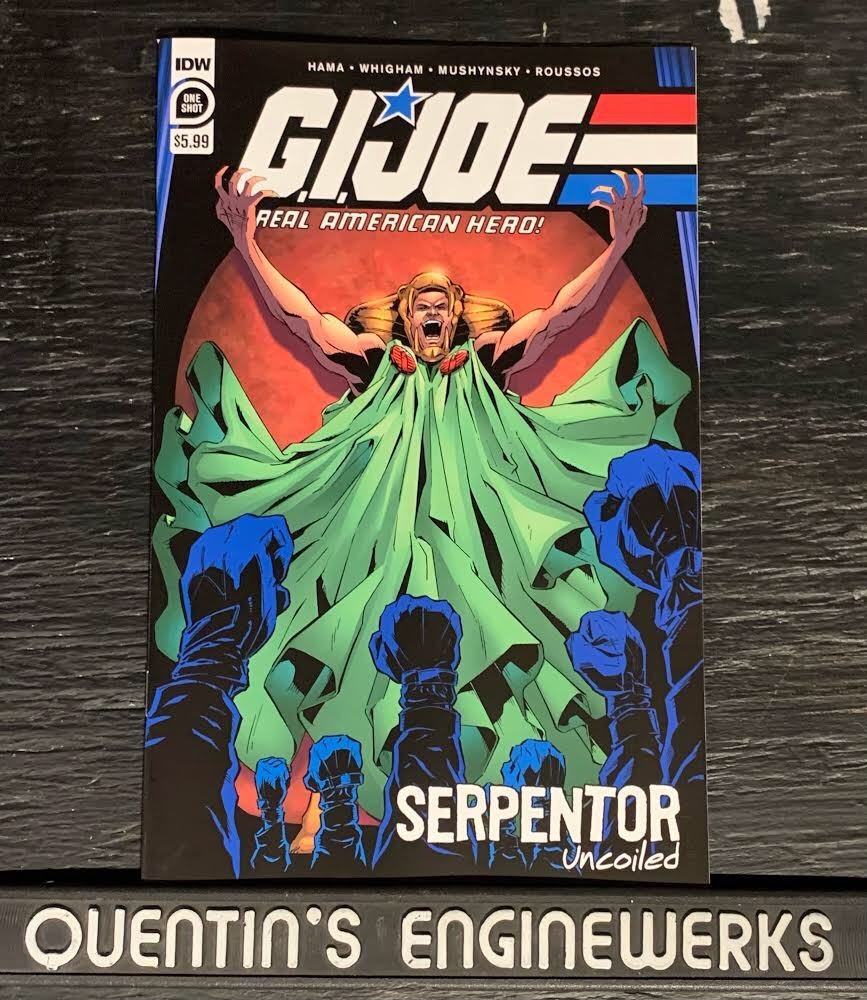 , REVIEW: G.I. Joe: A Real American Hero: Serpentor Uncoiled, The Indie Comix Dispatch