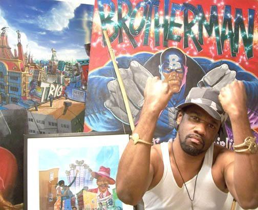 indie comic news, Retro Comic Spotlight: Brotherman, The Indie Comix Dispatch
