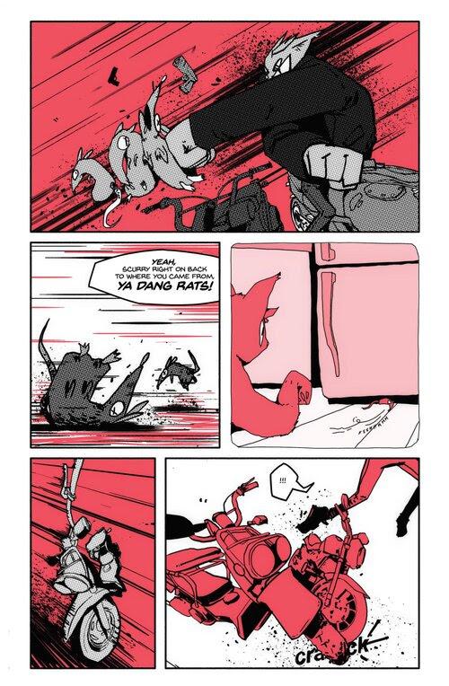 Indie Comic News, Cinnamon blasts onto Comics Scene with Tank Girl-like Furiosity, The Indie Comix Dispatch