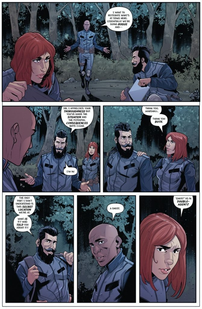 Indie Comic News, CAMPAIGN CORNER: Infinity Agents 1-3, The Indie Comix Dispatch