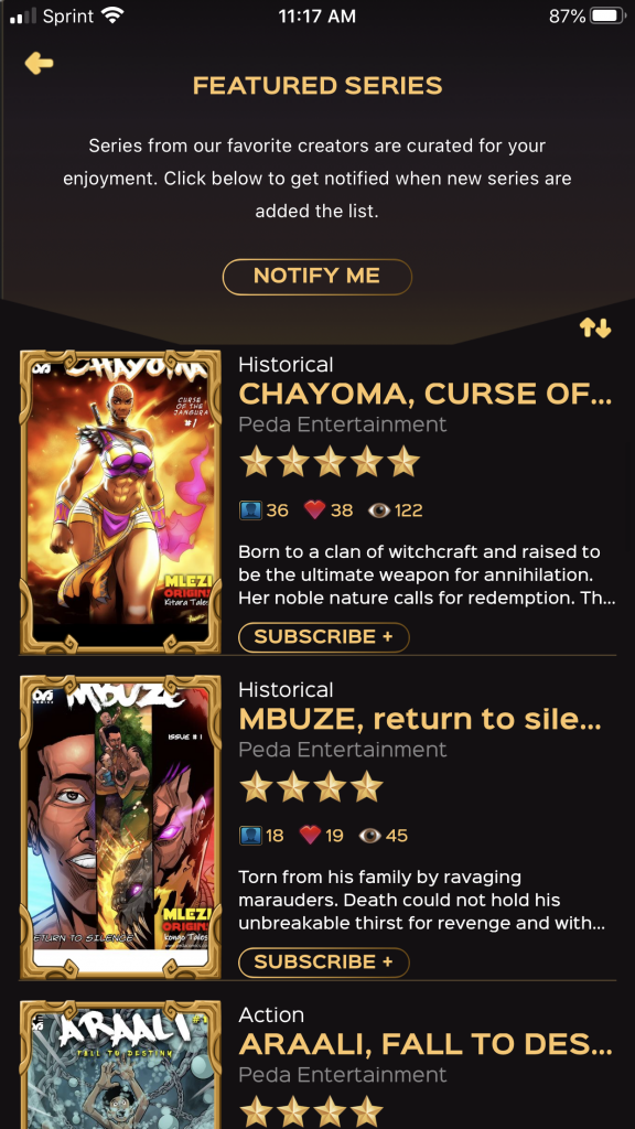 , Black Sands Launches Comic App, The Indie Comix Dispatch