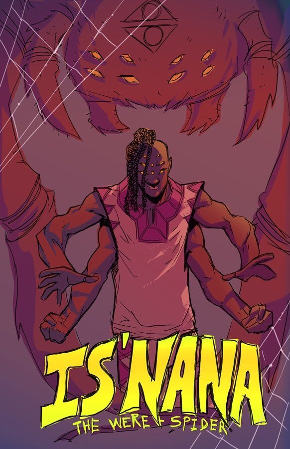 , CASTING CALL: Is'Nana The Were-Spider, The Indie Comix Dispatch