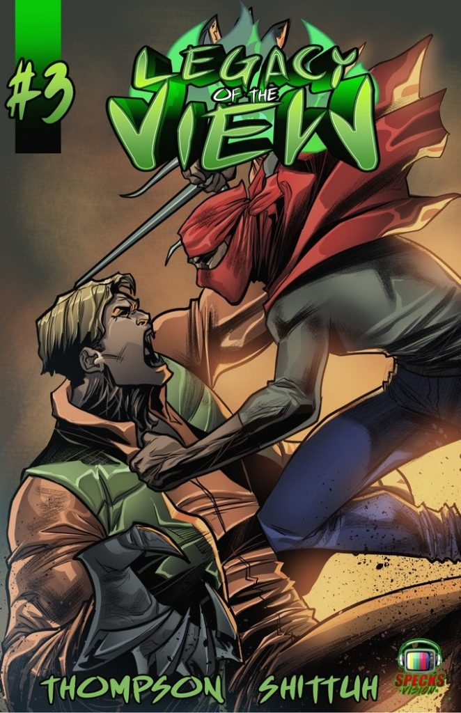 indie comic news, Campaign Corner: Legacy of The View 1-3, The Indie Comix Dispatch