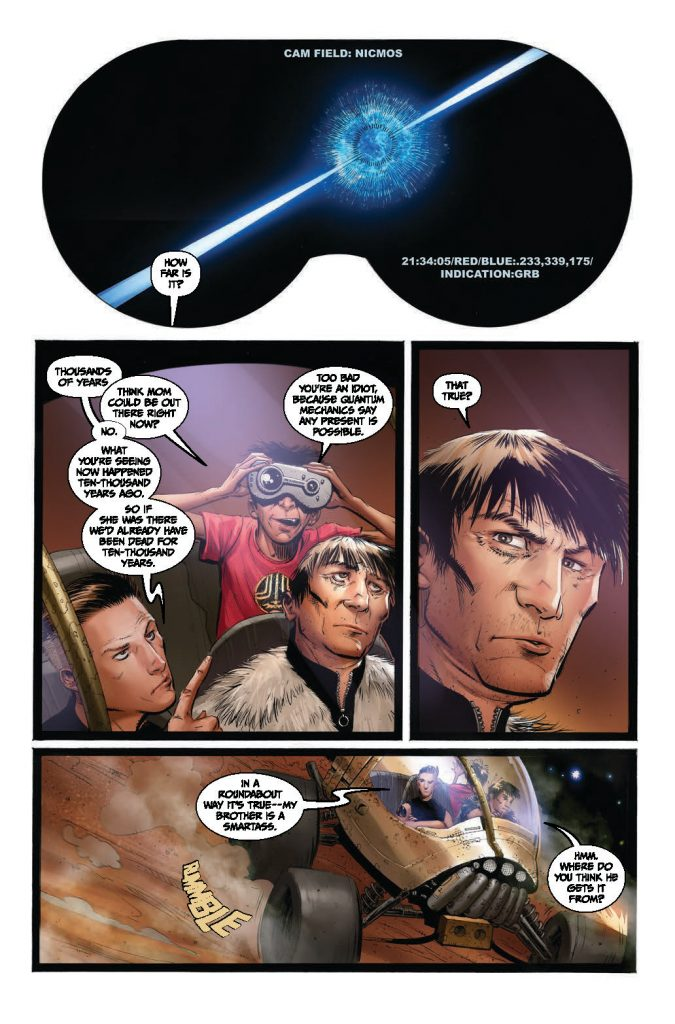 """, Scout Comics takes the tagline """"Lost in Space"""" to all new levels with REDSHIFT., The Indie Comix Dispatch"""