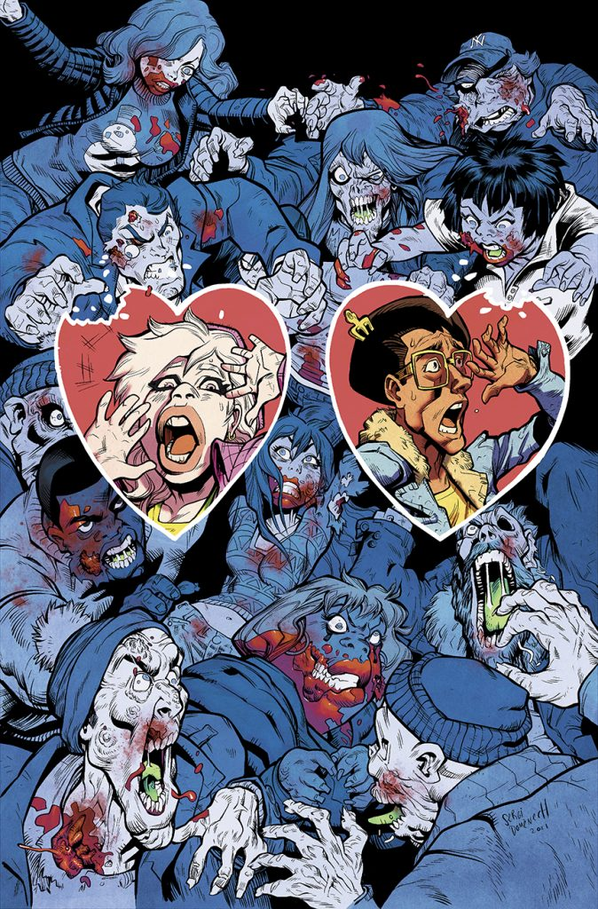 indie comic news, Love is Dead! Steve Urena's Zombie Date Night GOES LIVE ON KICKSTARTER JUNE 15th, 2021, The Indie Comix Dispatch