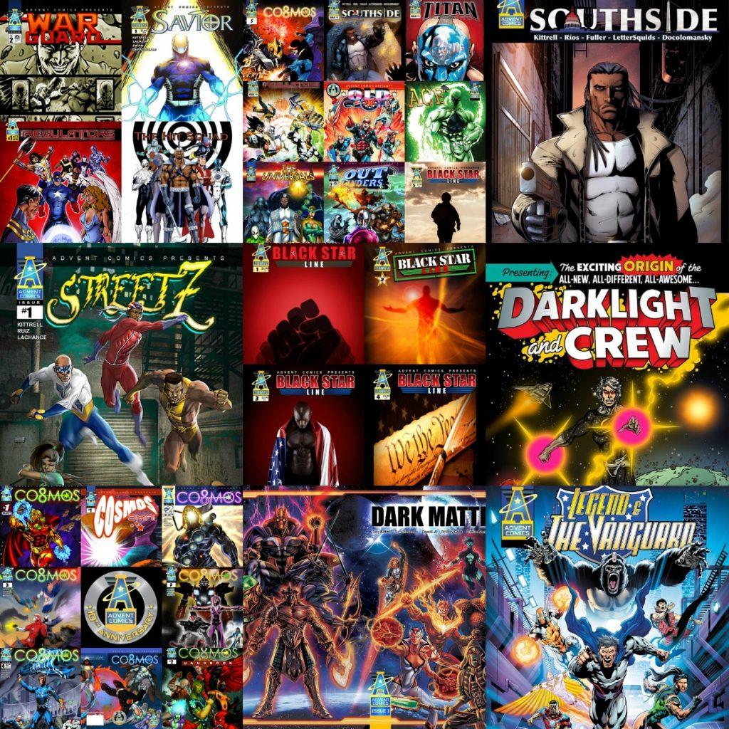indie comic news, Advent Comics Announces Distribution with Diamond Comic Distributors, The Indie Comix Dispatch