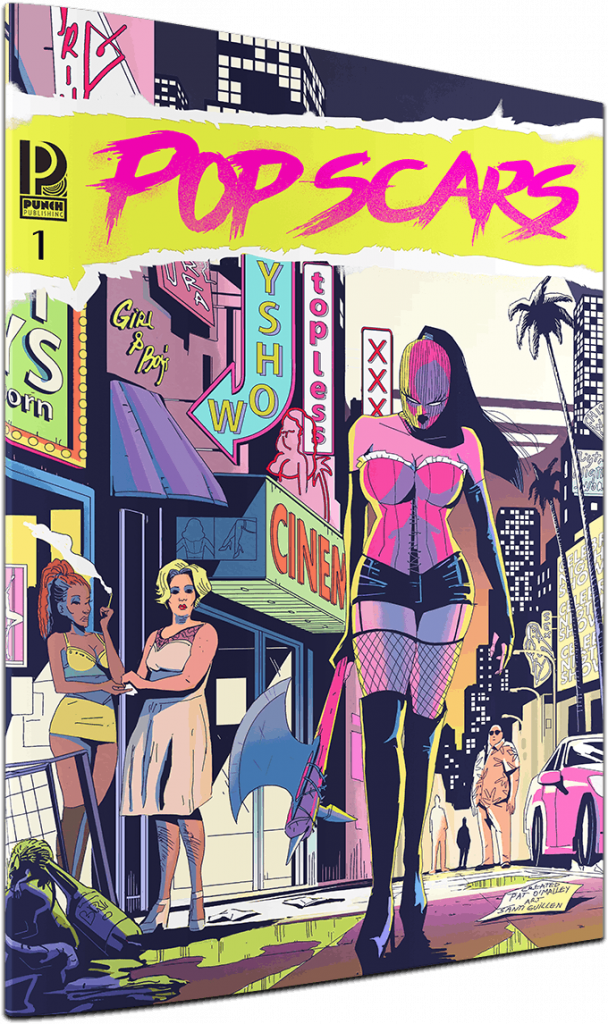 indie comic news, 10 Comics on Kickstarter Right Now That Have Kick-Ass Covers!, The Indie Comix Dispatch