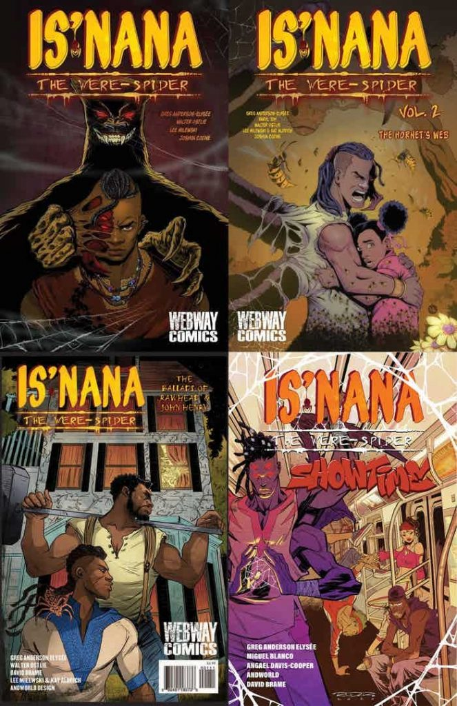 indie comic news, INTERVIEW: Greg Anderson Elysee, The Indie Comix Dispatch