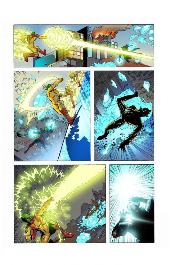 comic news, 42% to Funding goal in less than 3 hours – Green Tempest #1 Kickstarter Launch!, The Indie Comix Dispatch