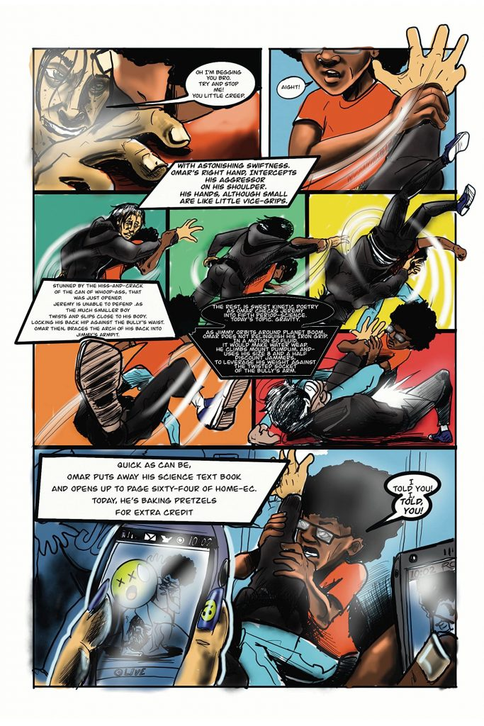 indie comic news, LEGALLY BLIND COMIC BOOK ARTIST RELEASES ISSUE SEVEN OF COMIC BOOK  SERIES, CHIASM, ON COMIXOLOGY., The Indie Comix Dispatch