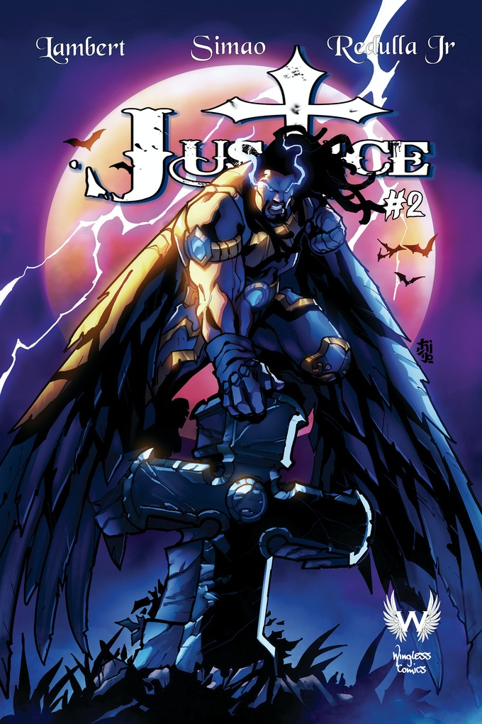 indie comic news, Wingless Comics Launches Justice #2, The Indie Comix Dispatch