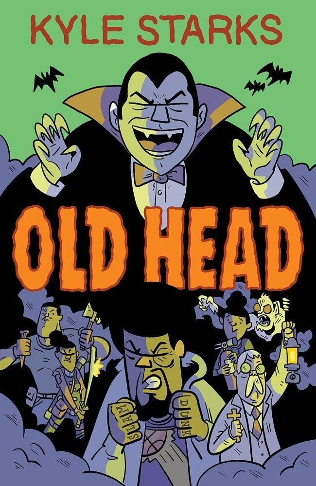 Indie comic news, MONSTER ACTION ABOUNDS IN UPCOMING GRAPHIC NOVEL OLD HEAD SNEAK PEEK, The Indie Comix Dispatch