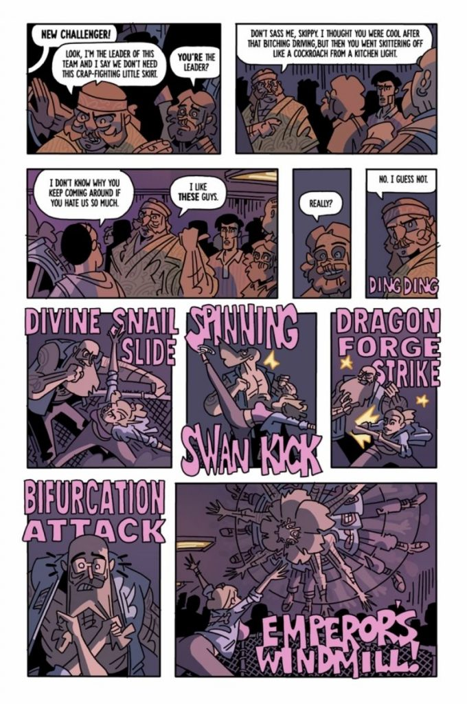 indie comic news, GET FAST & FURIOUSLY TANKED WITH KYLE STARKS & CHRIS SCHWEIZER IN THE SIX SIDEKICKS OF TRIGGER KEATON #3, The Indie Comix Dispatch