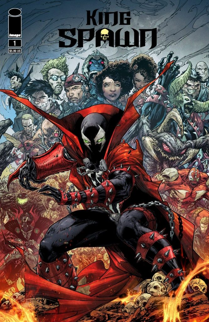 indie comic news, KING SPAWN #1—NEW MCFARLANE RETAILER INCENTIVE 1:250 COVER REVEALED, The Indie Comix Dispatch