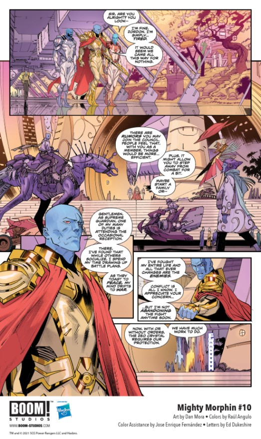 indie comic news, A New Evil Arises from Zordon's Past in MIGHTY MORPHIN #10, The Indie Comix Dispatch