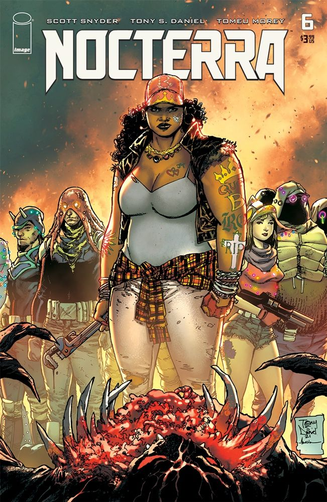 indie comic news, NOCTERRA #6 LANDS IMPRESSIVE TRIFECTA OF VARIANT COVERS, The Indie Comix Dispatch