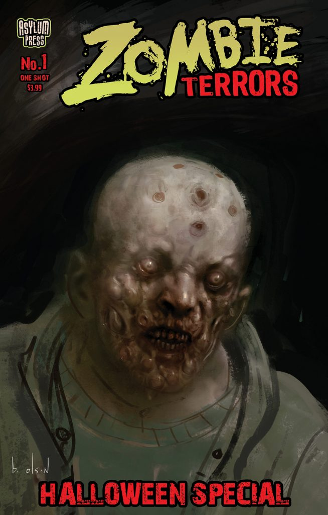 indie comic news, FIRST LOOK: ZOMBIE TERRORS: HALLOWEENSPECIAL #1 (ONE-SHOT), The Indie Comix Dispatch