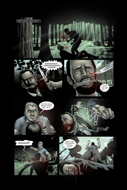 indie comic news, What happens when Pro Wrestling meets Dexter?, The Indie Comix Dispatch