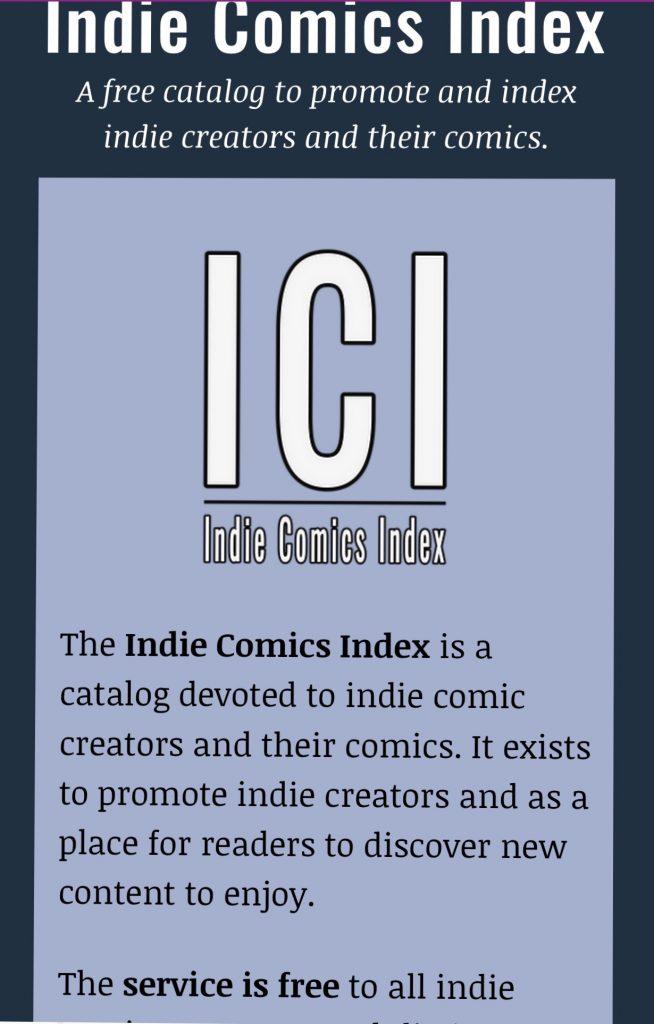 indie comic news, INTERVIEW: Adam Mullen (Indie Comics Index), The Indie Comix Dispatch
