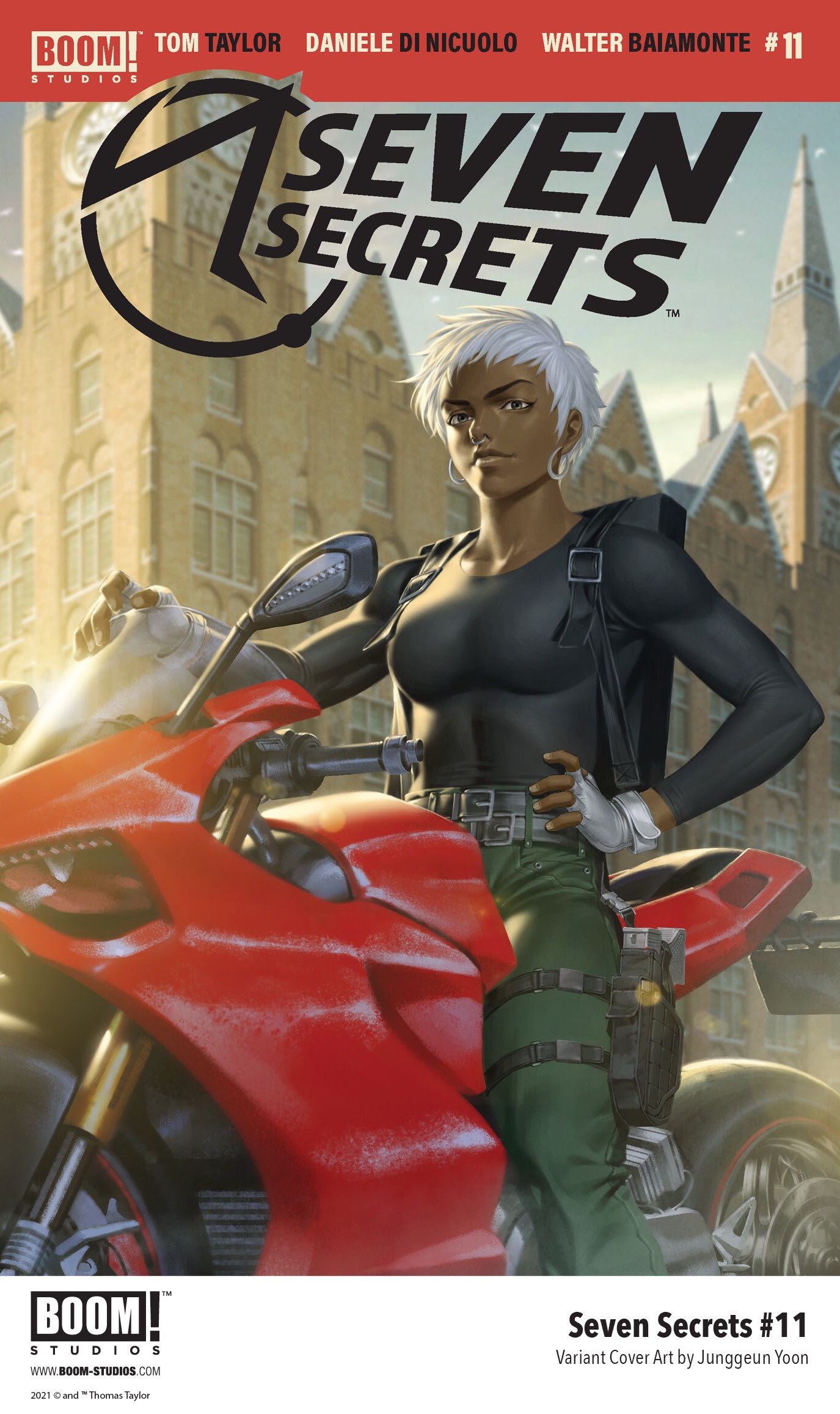 Indie comic news, Eva's Dangerous Discovery Changes Everything in SEVEN SECRETS #11, The Indie Comix Dispatch