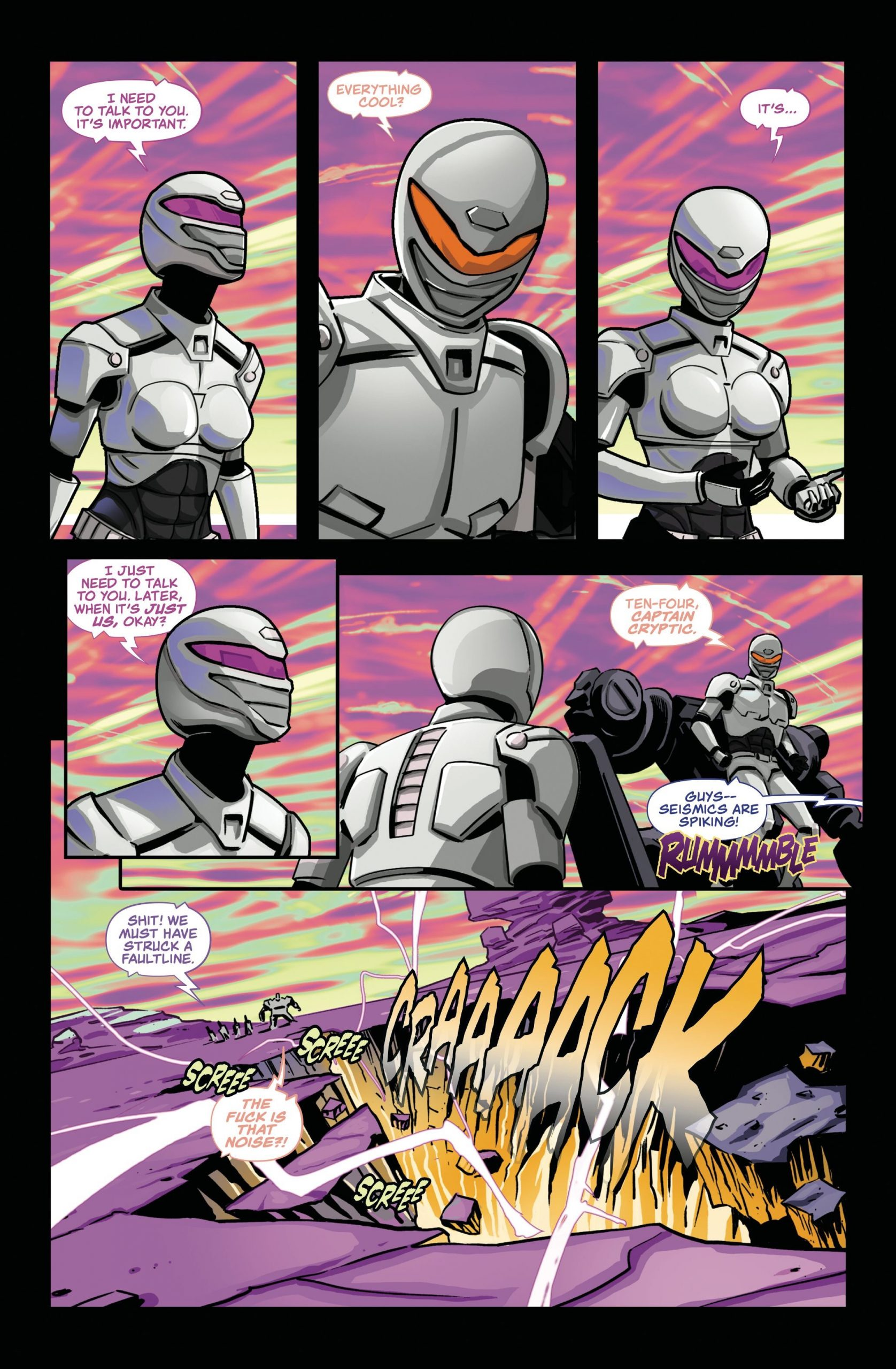 Indie comic news, Power Rangers meets Aliens in Unborn from Frank Gogol and Source Point Press, The Indie Comix Dispatch