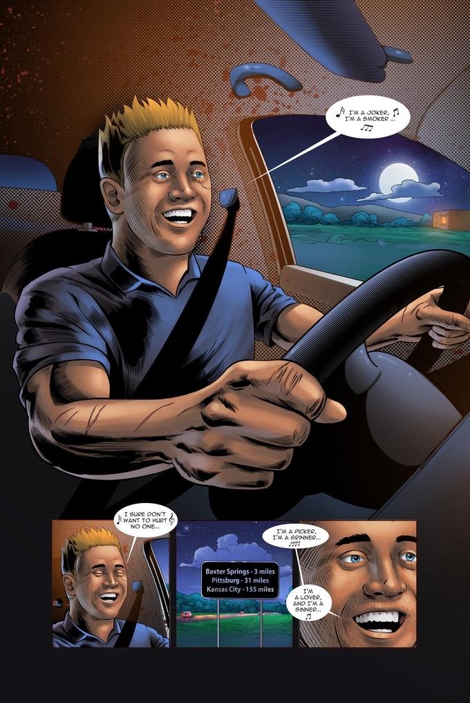 , INTERVIEW: Will Peden (Heel Turn), The Indie Comix Dispatch