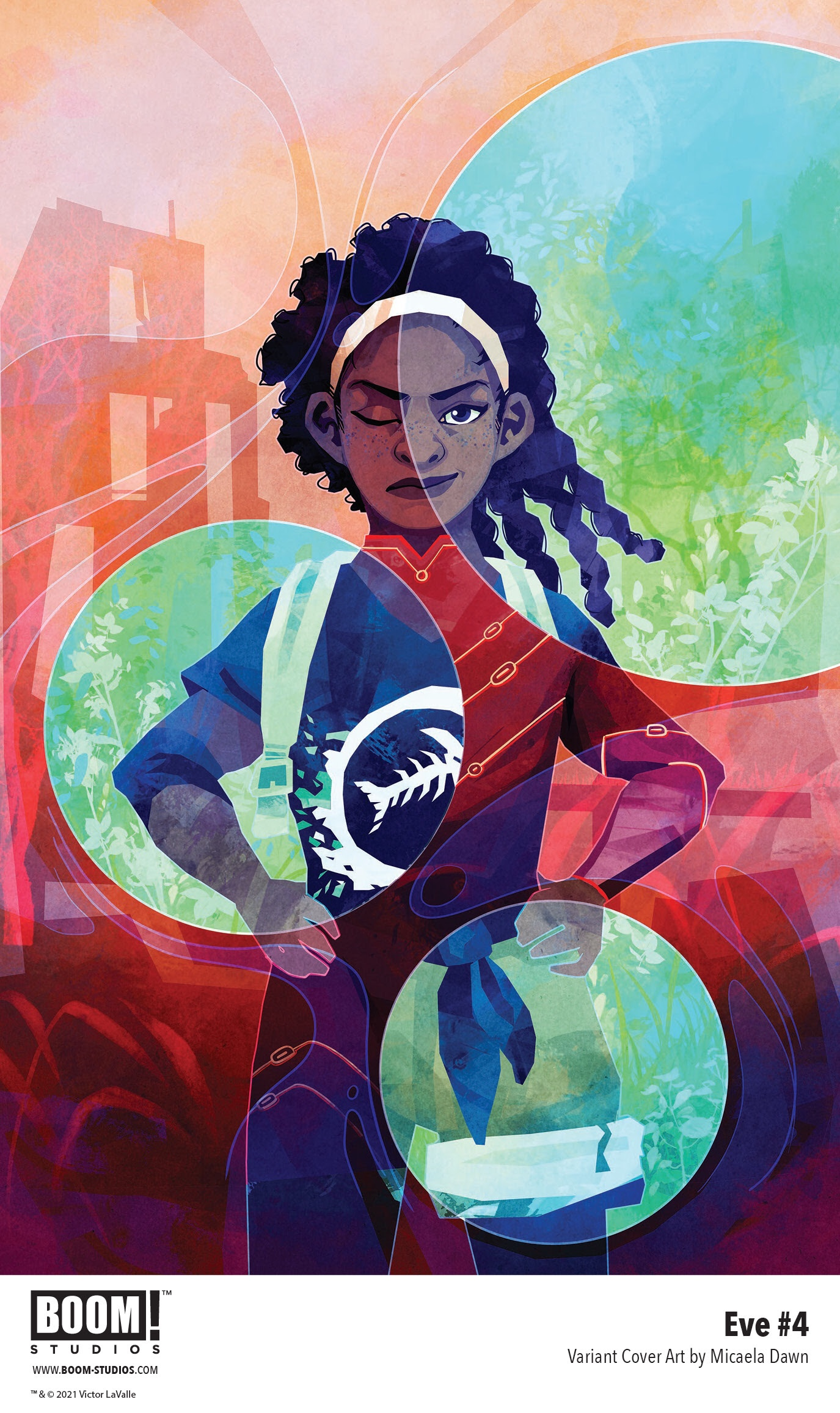 , A Desperate Chase to Save the World in EVE #4 from BOOM! Studios, The Indie Comix Dispatch