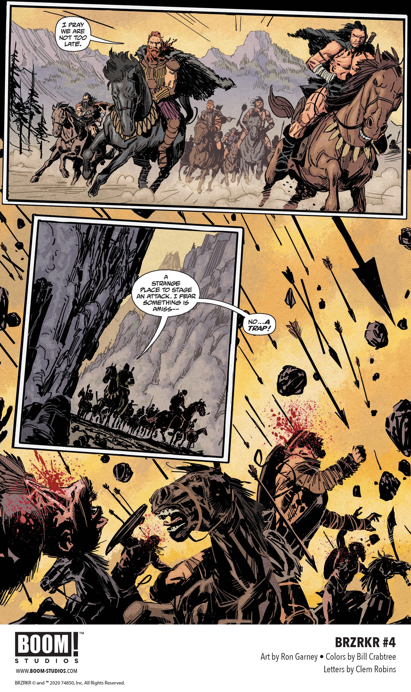 , Unlock the Mystery of B.'s Tragic Existence in BRZRKR #4, The Indie Comix Dispatch