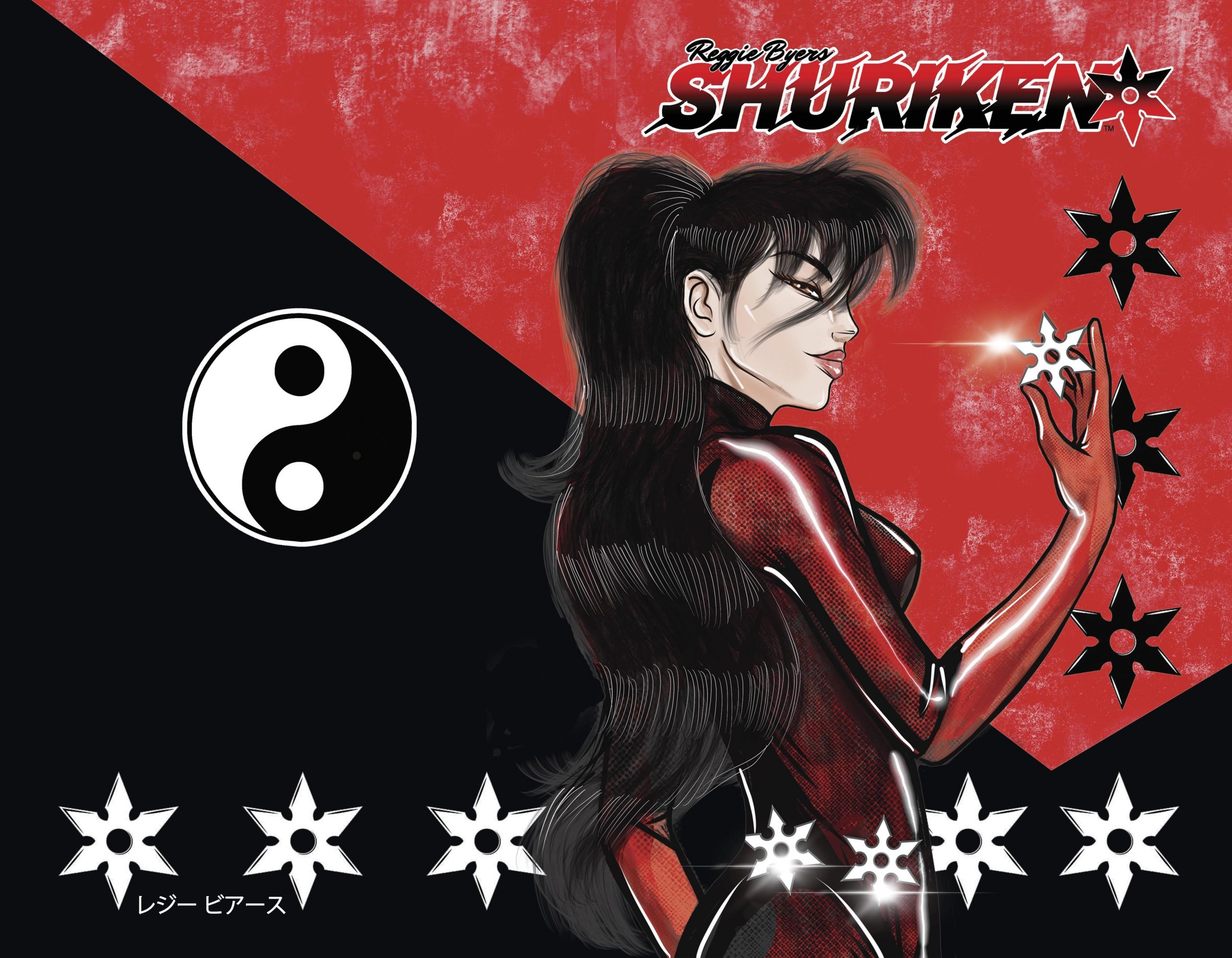 , Reggie Byers' SHURIKEN! The Return of the 1980's Manga Inspired Series, The Indie Comix Dispatch