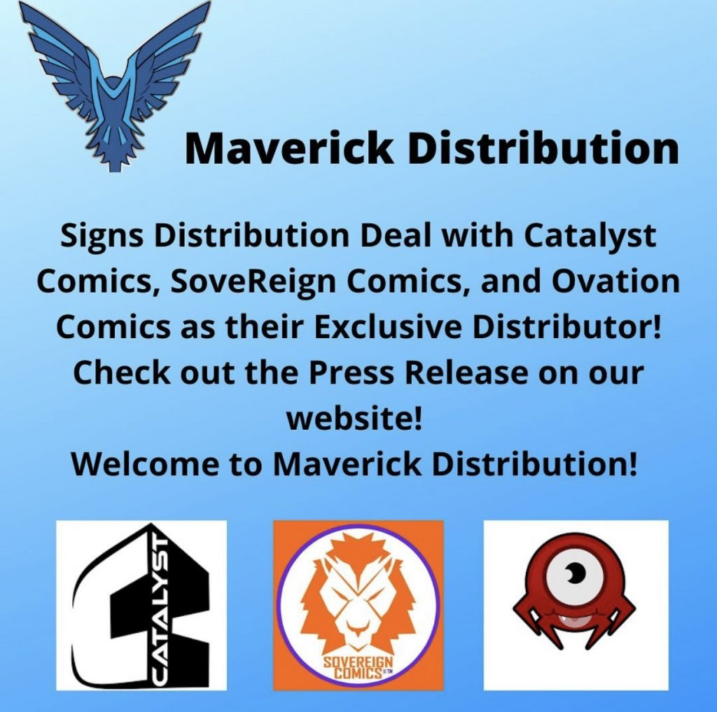 Indie comic news, New Indie Comic Distributor Launches – Maverick Distribution, The Indie Comix Dispatch