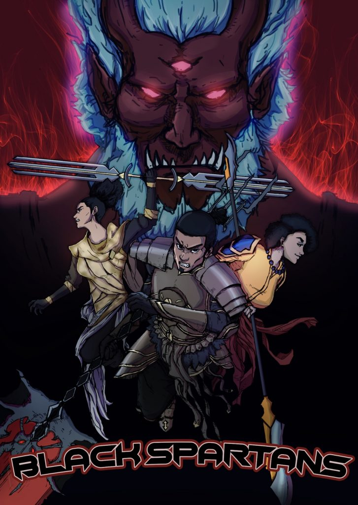, Black Spartans Manga Launches Chapter 2 on Kickstarter, The Indie Comix Dispatch