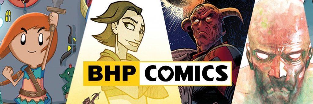 , BHP Comics Joins the GlobalComix Platform, The Indie Comix Dispatch