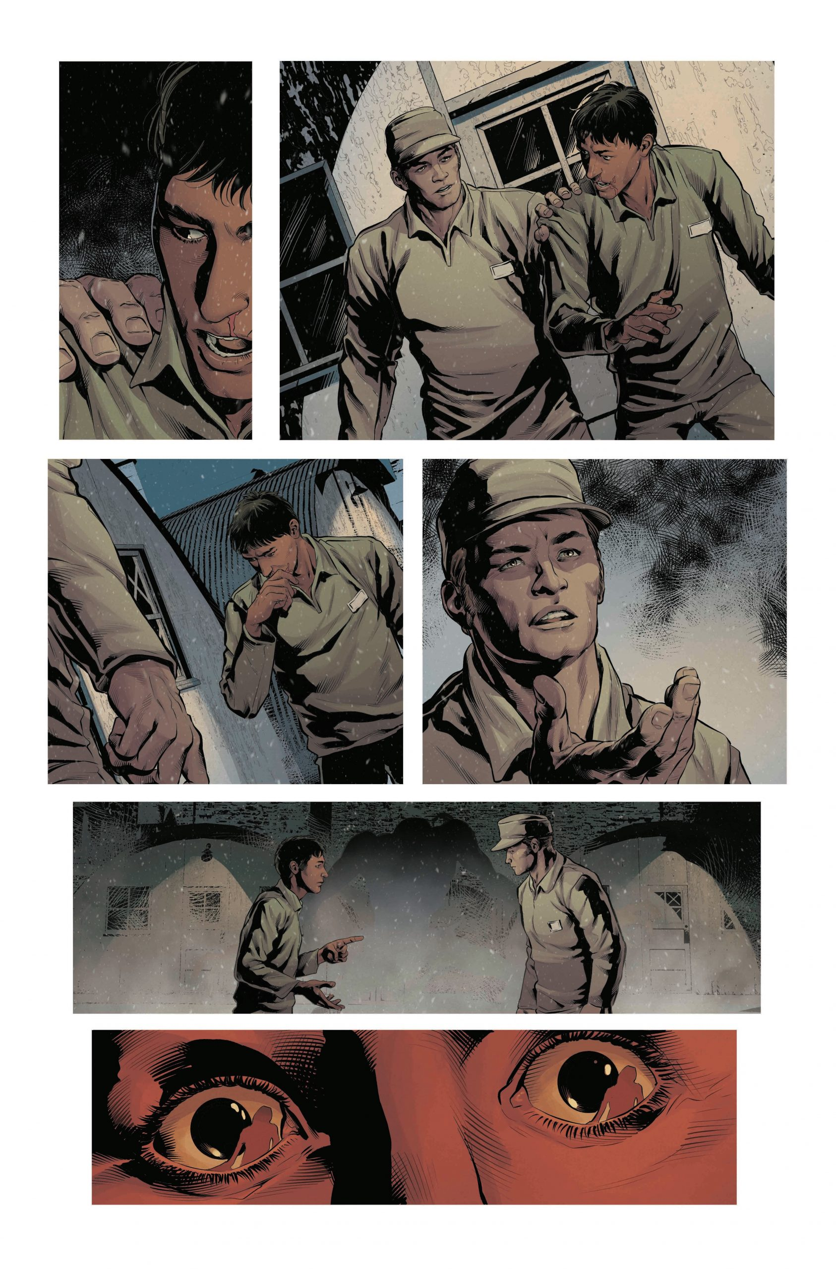 , Rob Williams Creates Epic WWII Horror Series Filled with Nazis and Vampires, Called OUT, The Indie Comix Dispatch