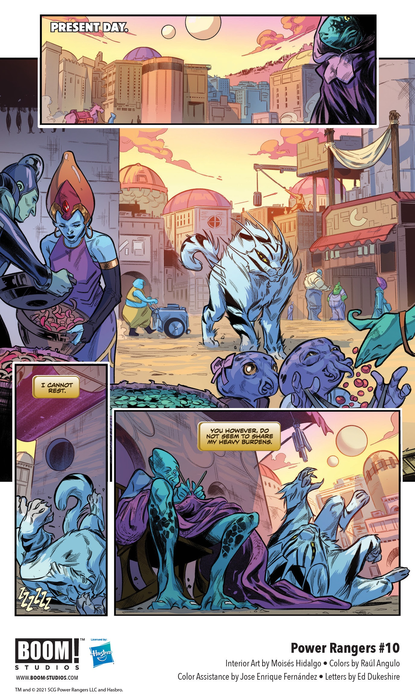 , FIRST LOOK: POWER RANGERS #10 from BOOM! Studios, The Indie Comix Dispatch
