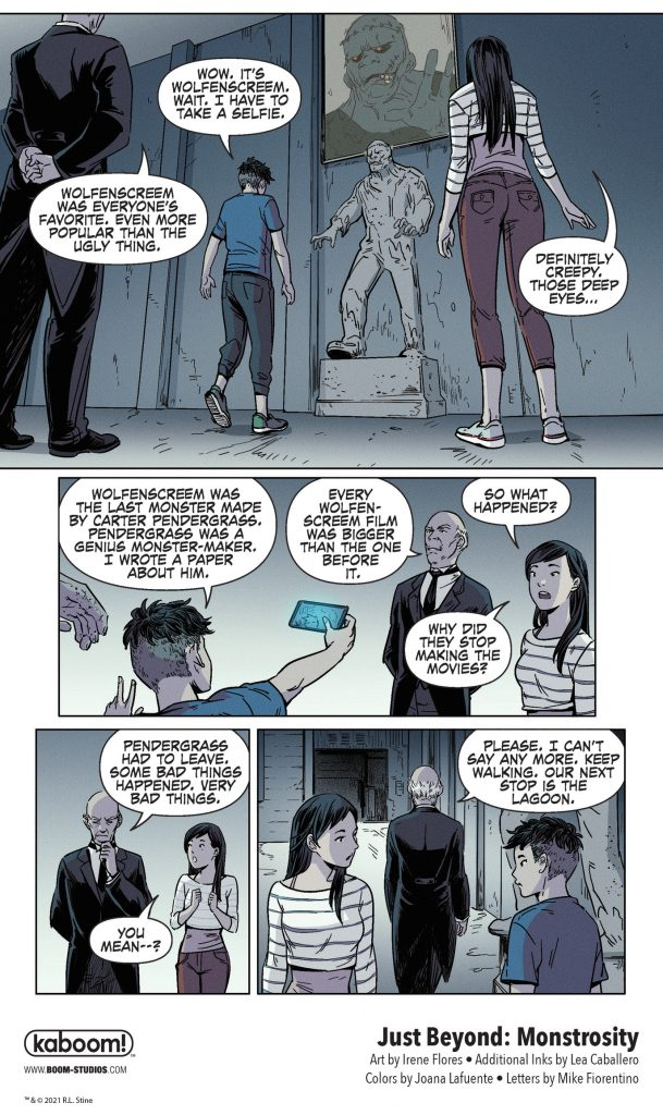 indie comic news, FIRST LOOK: R.L. Stine's JUST BEYOND: MONSTROSITY, The Indie Comix Dispatch