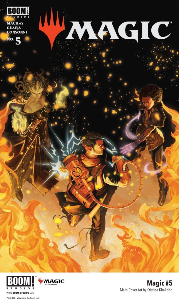 , Shocking Secrets on Dominaria in Your First Look at MAGIC #5, The Indie Comix Dispatch