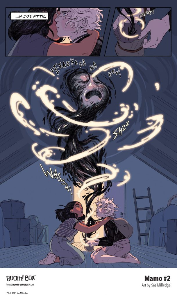 indie comic news, FIRST LOOK: Mamo #2, The Indie Comix Dispatch