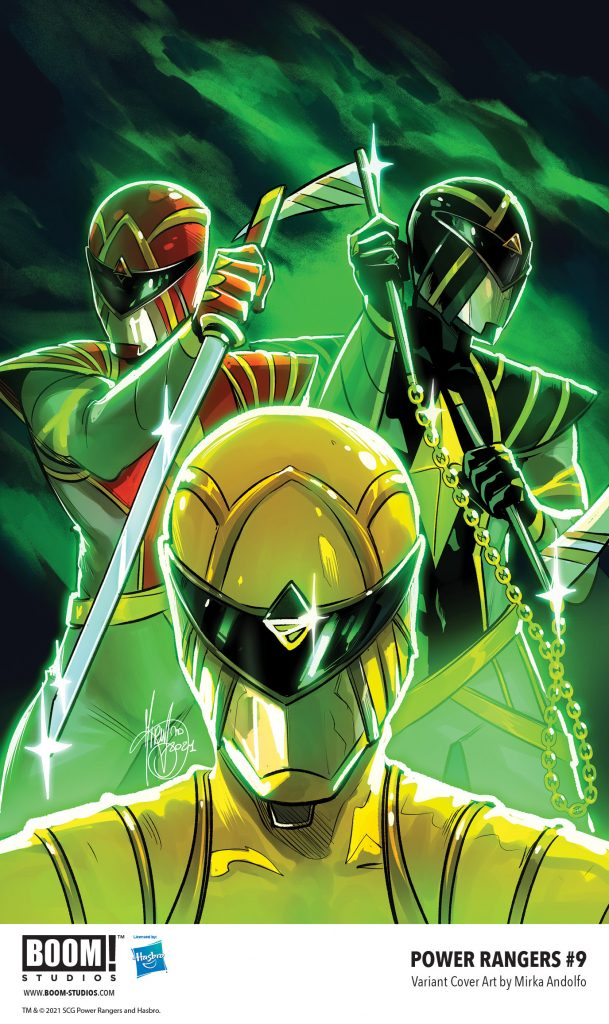 indie comic news, Your First Look at POWER RANGERS #9 from BOOM! Studios, The Indie Comix Dispatch