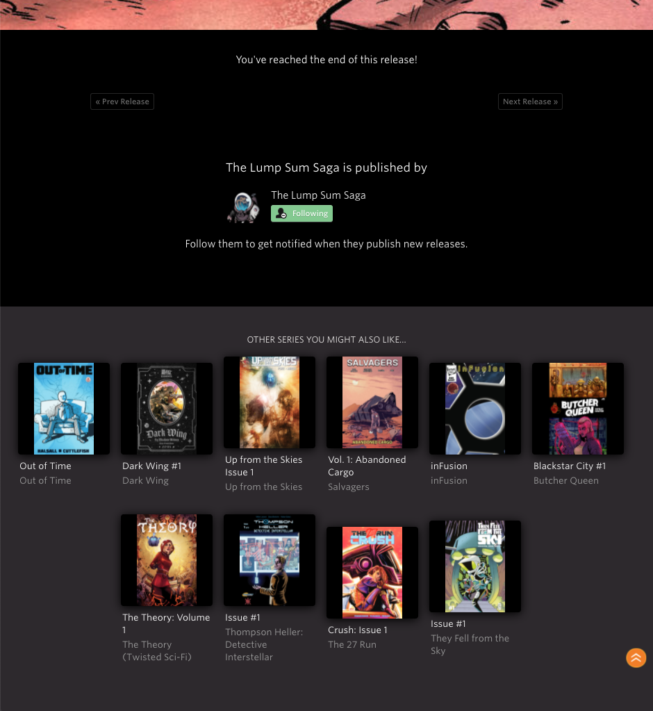 indie comic news, GlobalComix Releases All-New Digital Reader with Improved Crowdfunding Integrations For Creators, The Indie Comix Dispatch