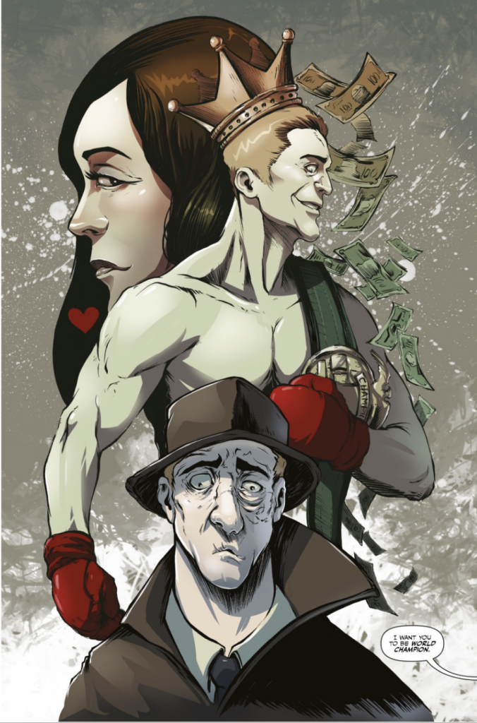 indie comic news, Preview TPub's new comic 'Theatrics Volume 2' only on GlobalComix, The Indie Comix Dispatch