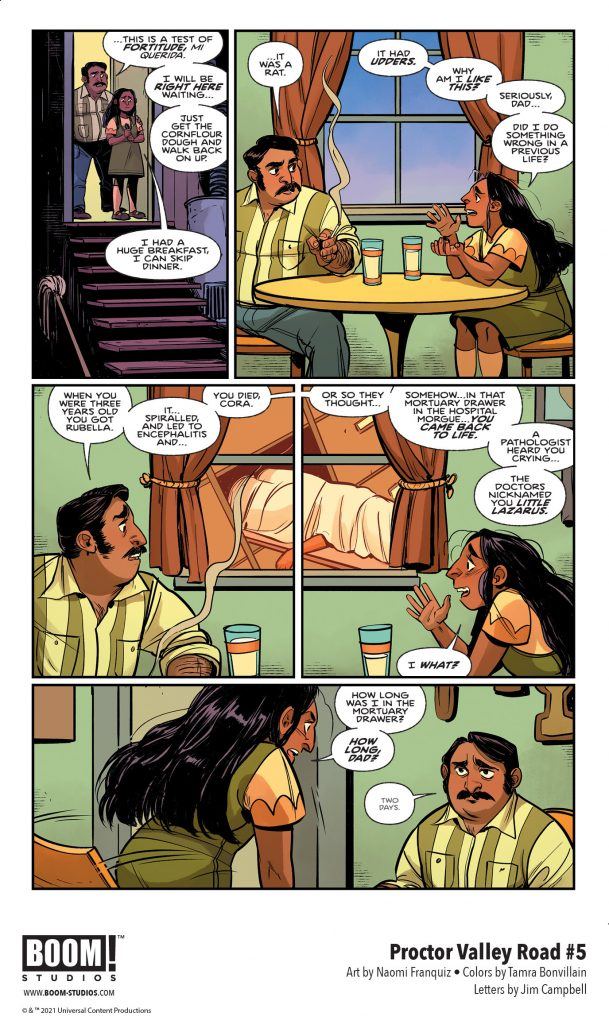 indie comic news, Friendships Shattered in Your First Look at the Finale of PROCTOR VALLEY ROAD, The Indie Comix Dispatch